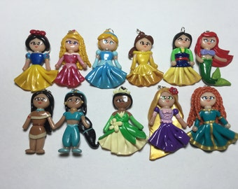 Disney Princesses polymer clay