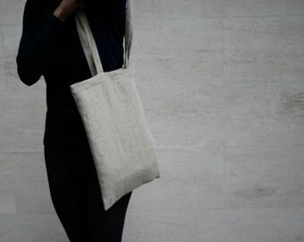 Bag Tote bag washed linen
