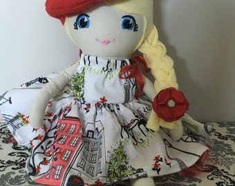 Fabric Doll, Soft Doll,