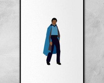 Lando Calrissian Minimal Artwork