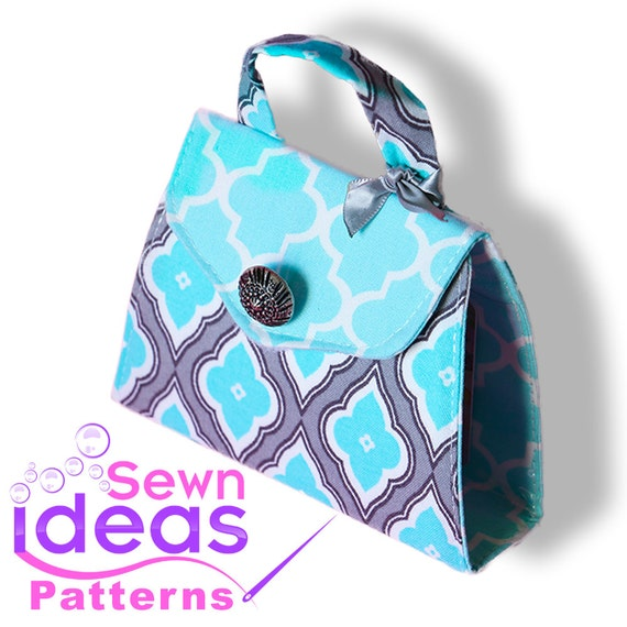 PDF sewing pattern Gift Card Purse DIY gift card holder