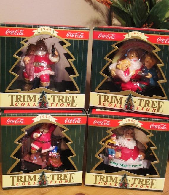 Coca Cola Trim A Tree Collection Ornaments