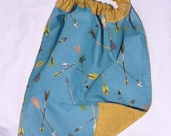 "TOWEL elastic canteen for reversible cotton child... ""arrows"""