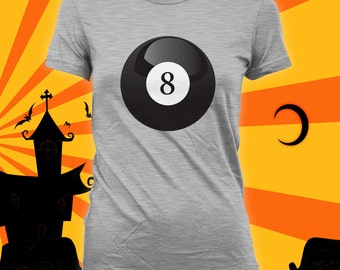 fortune teller magic 8 ball costume easy funny halloween shirt funny halloween - Magic 8 Ball Halloween Costume