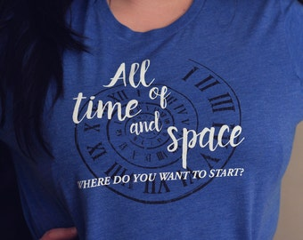All of Time and Space Doctor Who T-shirt