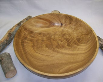 Extra Large Figured Chinese Chestnut Bowl