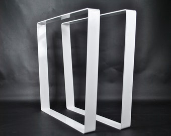 Trapezoid Metal Table Base (set of 2pcs)
