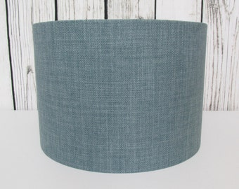 Duck Egg Lampshade Textured - Choice of Inner Lining