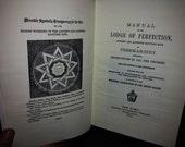 Manual of LODGE of Perfec...