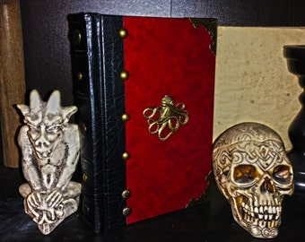 Completely hand-made reproduction steampunk Necronomicon-H.P. Lovecraft