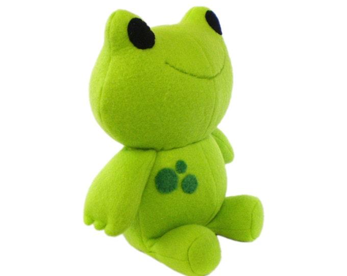Frog Plush Sewing Pattern
