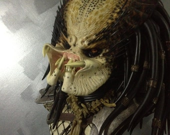 Limited Edition Predator Unmasked Scale Bust Sculpture Sideshow Collectibles 1987
