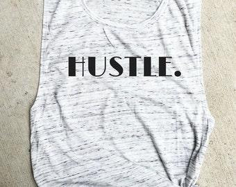Hustle Muscle Tee, workout tank, Beachbody gym shirt, yoga, funny shirt, workout shirt