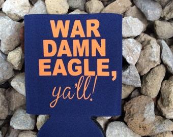 War Eagle Fan Beverage Insulator
