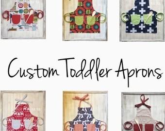 Custom Toddler Aprons