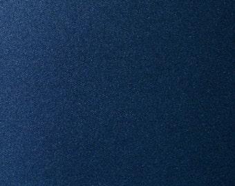 Navy Blue / Lapislazuli Pearlescent Cardstock 285gsm Double Sided