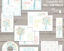 Kit - LDS Primary 2016 Theme PRINTABLE I Know The Scriptures Are True Binder Poster Assignment Card Birthday Circle Bookmark CD Label P.03