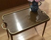 Mid Century Modern Genuine Scheibe Folding Table