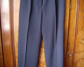 "Great pants woman ""Kart"", Blue Navy, size M/40, Vintage 1980s"