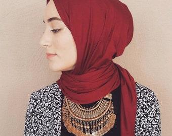 Cotton Jersey Hijab Scarf