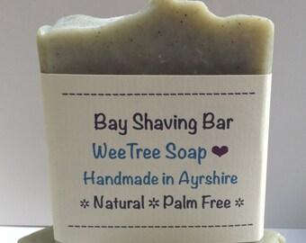 Bay Shaving Bar Natural Handmade Soap Bar