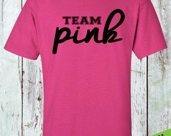 Team pink | Etsy