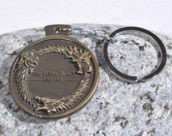 Elder Scrolls Online inspired KeyChain Key Ring