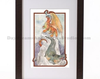 Last Chance to Buy - Cryptids - The Dragon and the Crocodile