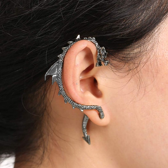 Game of thrones dragon ear cuff - Game of thrones dragon ear cuff ...