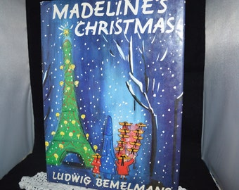 Madeline's Christmas / Bemelmans / Ludwig Bemelmans / holiday story / Madeline / classic childrens story / childrens literature / storybook