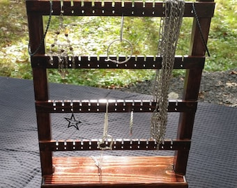 Jewelry Display, Earring Holder, Jewelry Stand, Jewelry Rack, Necklace Hanger, Jewelry Organizer, Earring Display Stand, Earring Stand