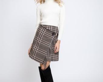 MIA White Ribbed Turtleneck Sweater
