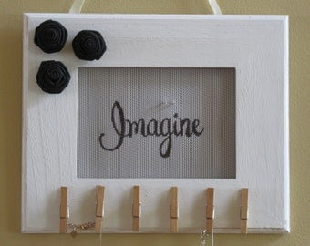 Handmade and Classic 'Imagine' Earring and Necklace Holder