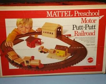 Mattel Putt-Putt Railroad 1972