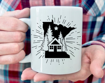 Minnesota CABIN Mug   11 oz.