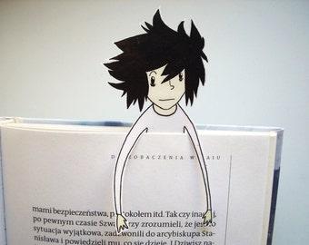 Death Note L bookmark