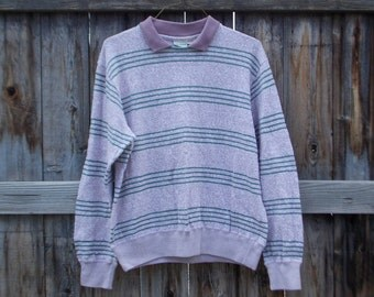 Vintage Collared Sweater Size L
