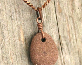 Essential Oils Necklace Diffuser Necklace for Essential Oil Sandstone Pendant, Aromatherapy Necklace, Young Living, DoTERRA Scented Jewelry