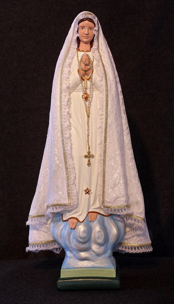 "Our Lady of Fatima 18"" Catholic Christian Mary Statue"