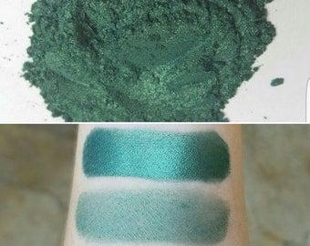 Link - Green, Mineral Eyeshadow, Mineral Makeup, Pressed or Loose