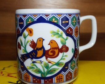 Beautiful Japan Lovebirds Mug
