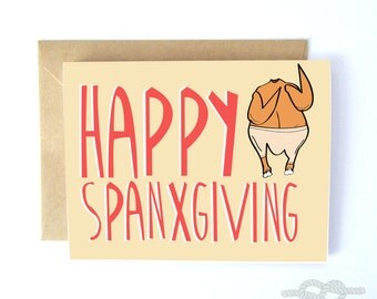 Funny Thanksgiving Card, Fall Card, Thanksgiving Card, Greeting Card, Funny Card, Holiday Card, Funny Cards, Funny Thanksgiving Cards