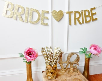 Bride Tribe Banner - Bachelorette Banner - Bachelorette Party Decor - Bachelorette Decoration - Bride Tribe - Bach Bash Banner
