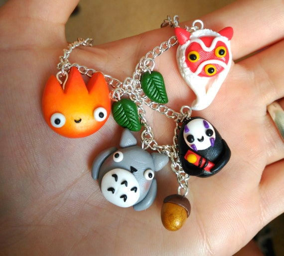 Studio Ghibli Charm Bracelet