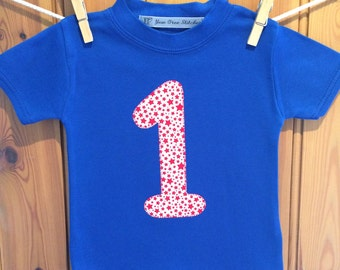 Baby boy 1st birthday outfit * 1st birthday * 2nd/3rd/4th/5th birthday t shirt *boy birthday tshirt *personalised T shirt* Yew Tree Stitches