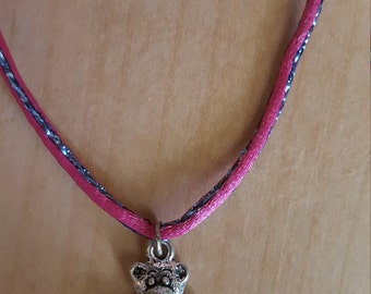 Very fun bear necklace for a girl to wear approx 14 inch