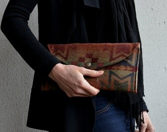 Clutch Purse, Navajo Clutch, Wool Clutch, Evening Bag, Small Purse, Small Handbags, Navajo Handbag, Southwestern Bag, Clutch Clutch Bags