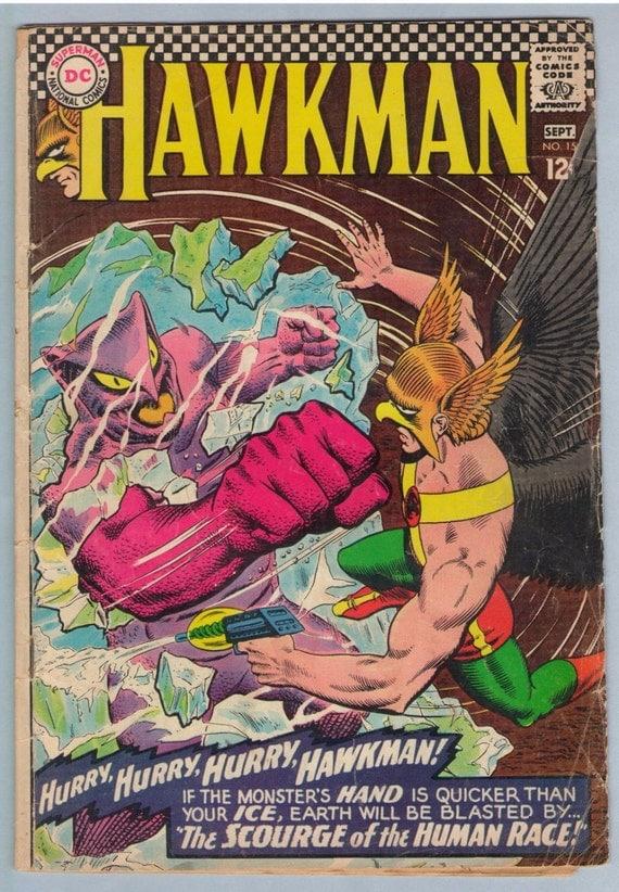 Hawkman 15 Sep 1966 GD-VG (2.0)