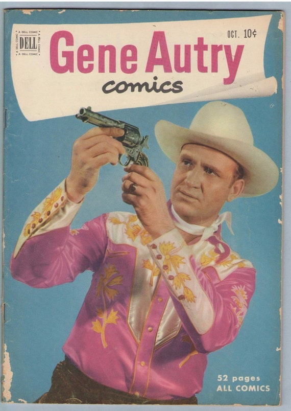 Gene Autry Comics 56 Oct 1951 VG (4.0)