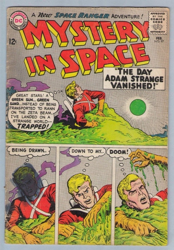 Mystery in Space 97 Feb 1965 GD-VG (3.0)